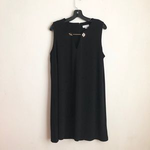 Calvin Klein dress size 14 slip on black